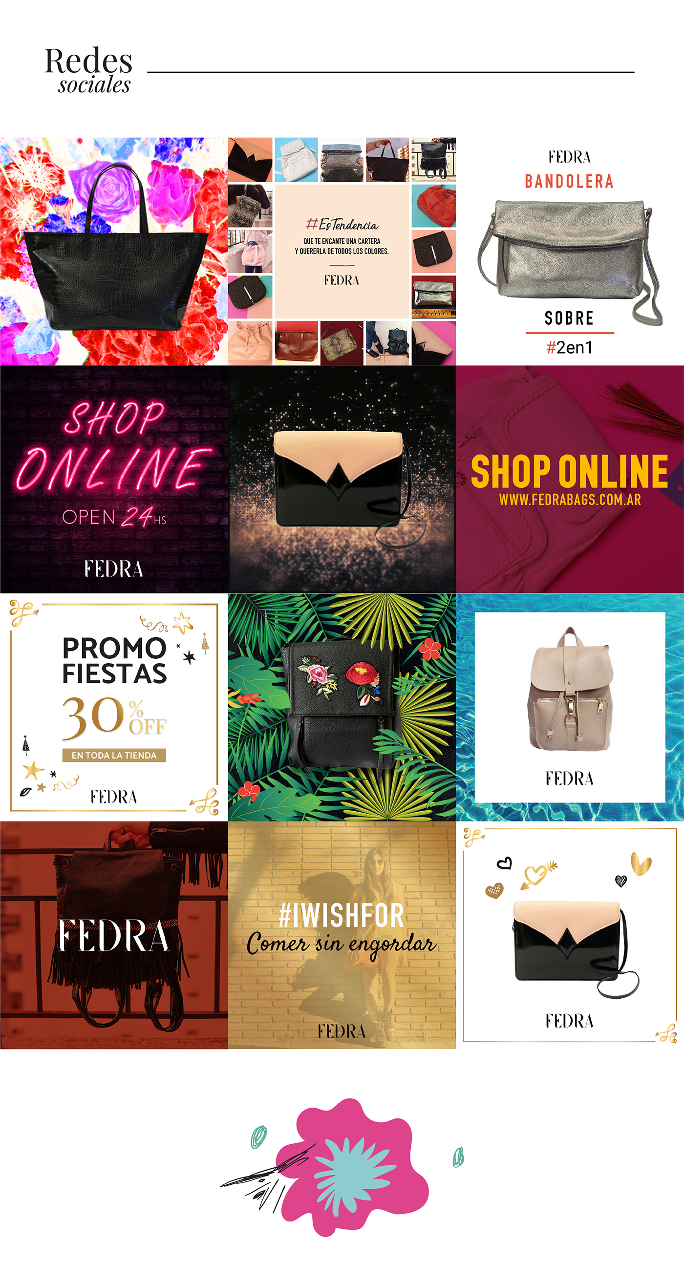 bags Web Website shop Ecommerce Fashion  typo design graphic Responsive