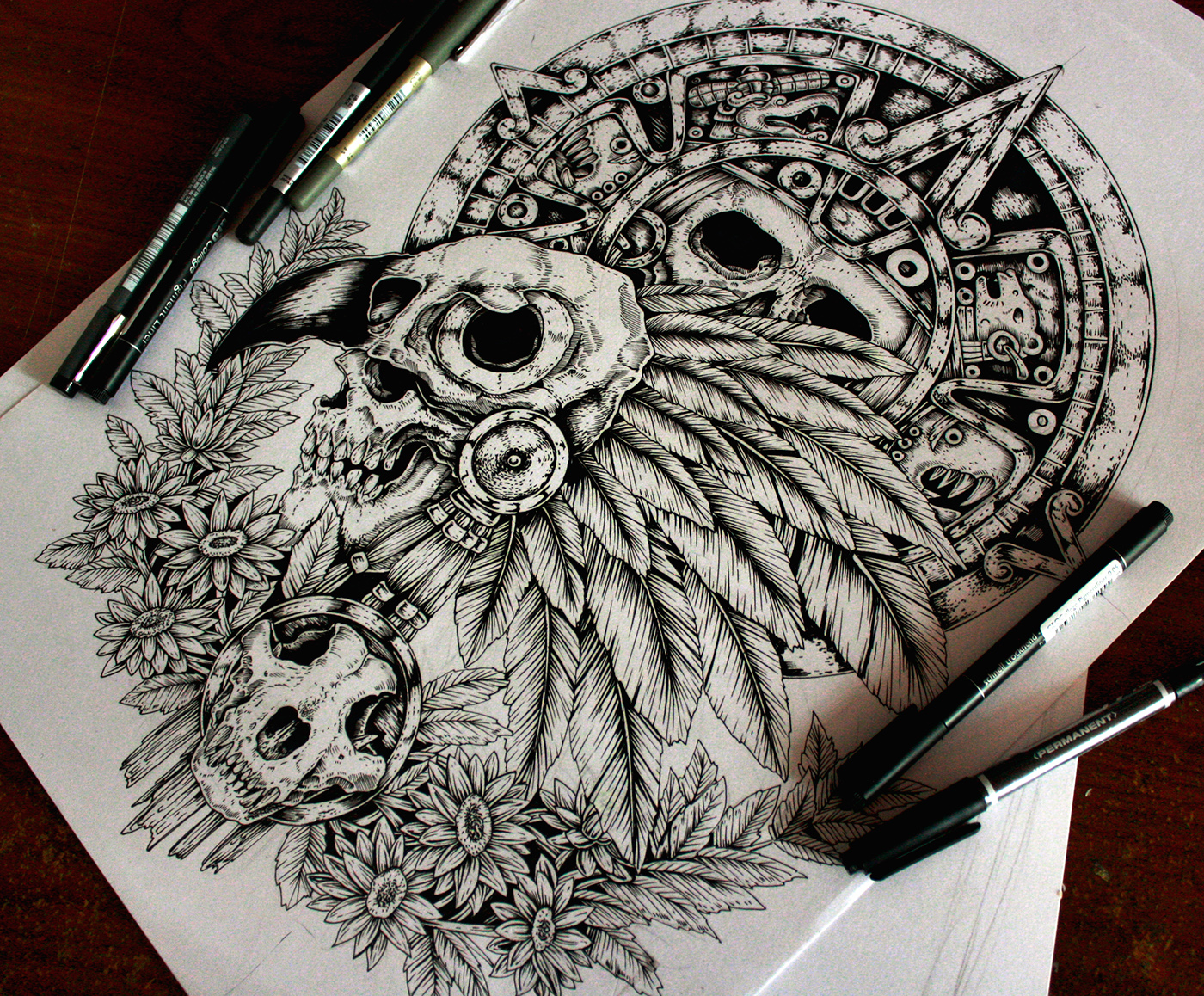 Drawings, Sketches and Tattoo Designs on Behance