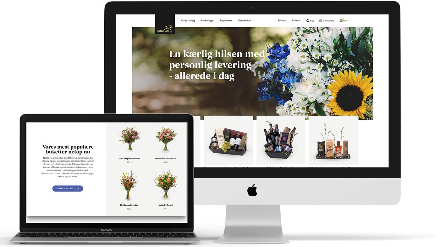 digital design art direction  Website webshop customer experience