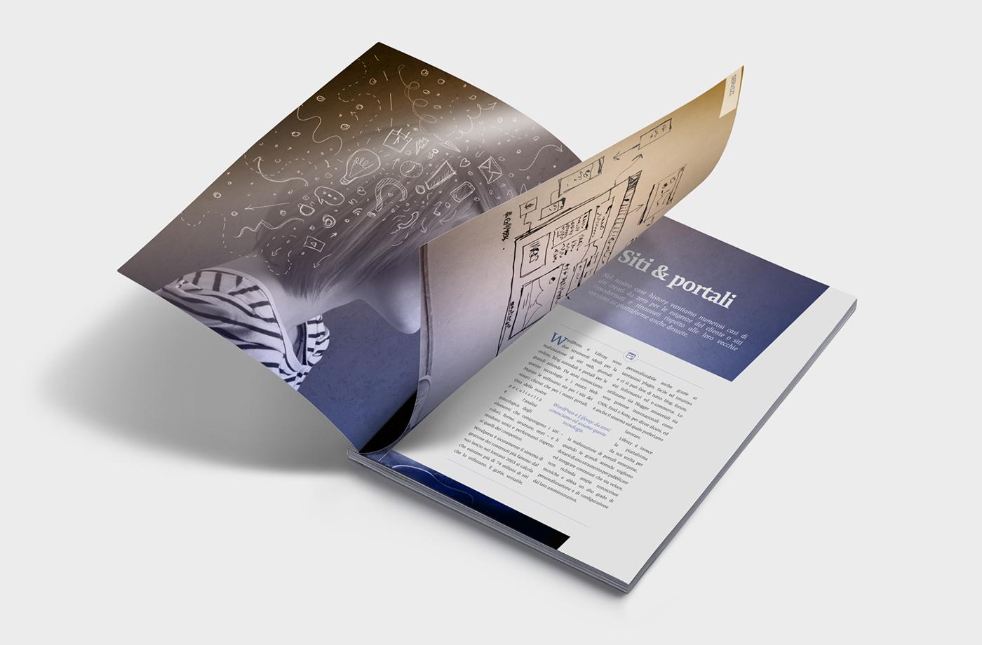 brochure visual webmarketing marketing