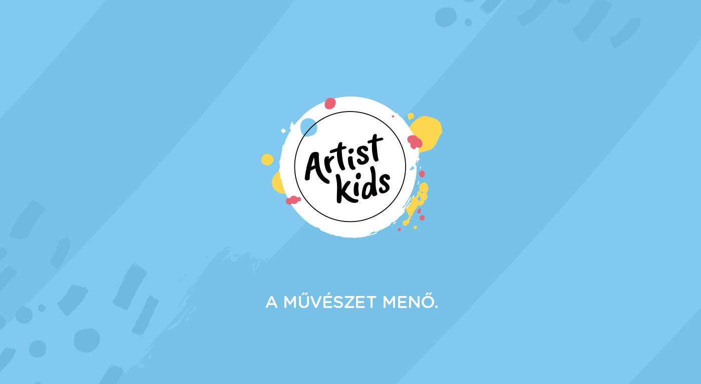 artist branding  children creative Frida Kahlo identity kids logo Mona Lisa Picasso