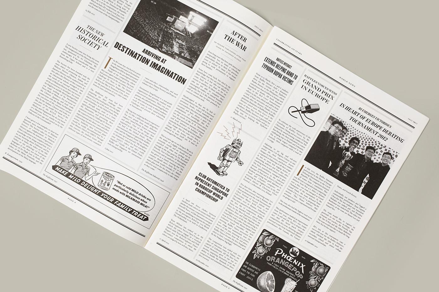 print institution campaign content direction art vintage