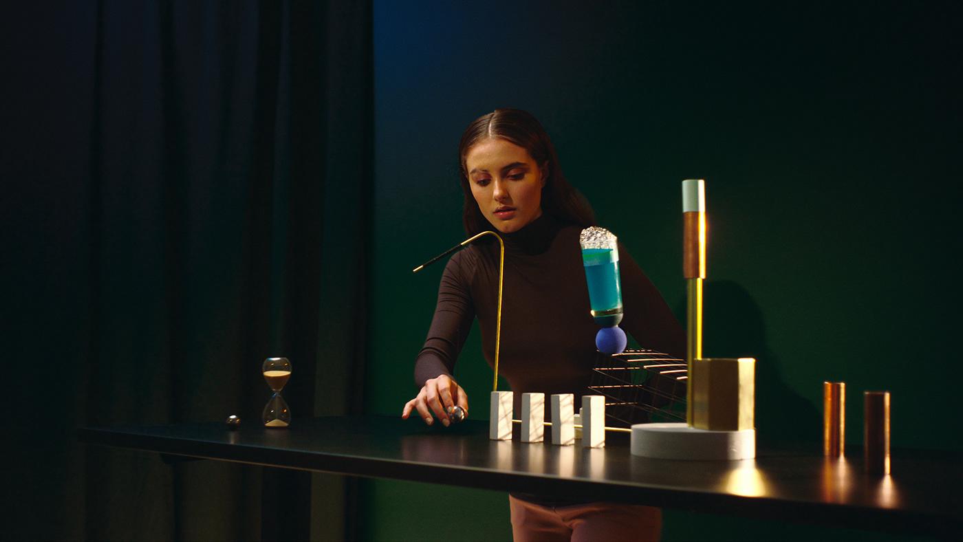 motion design motion Ergonofis desk type motion Kinetic Type live-action art direction  Creative Direction  animation