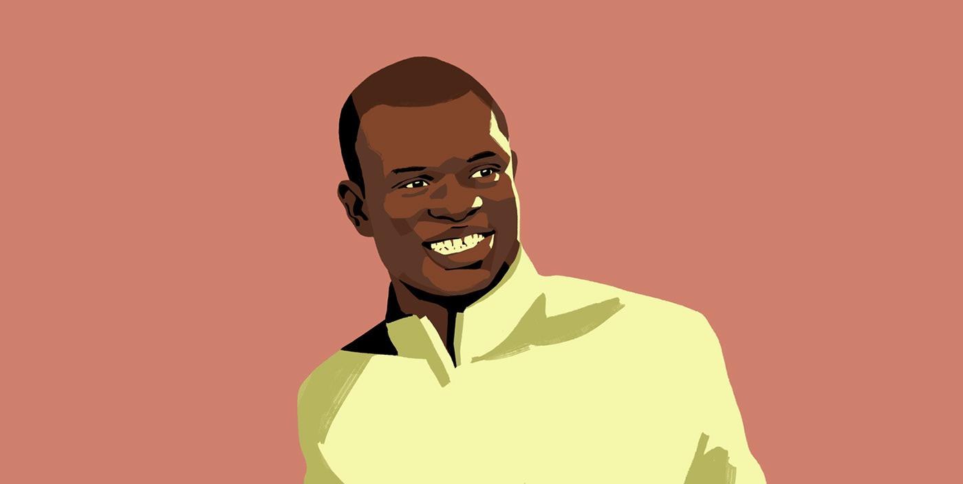 color face football Players portraits profile smile soccer Positive