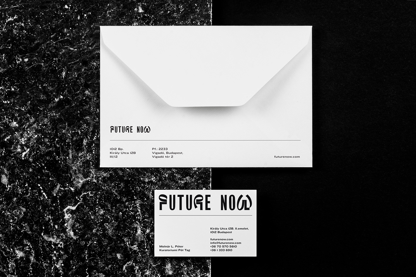 FUTURE NOW Design Conference Branding Concept by Classmate Studio