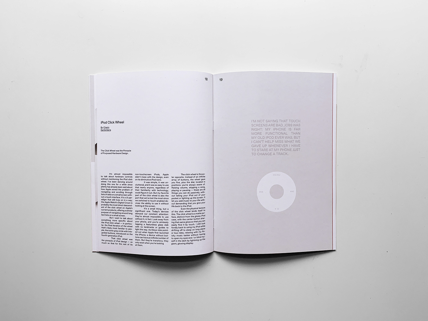 airpods apple dieter illustrations Layout magazine Minimalism muji rams sans