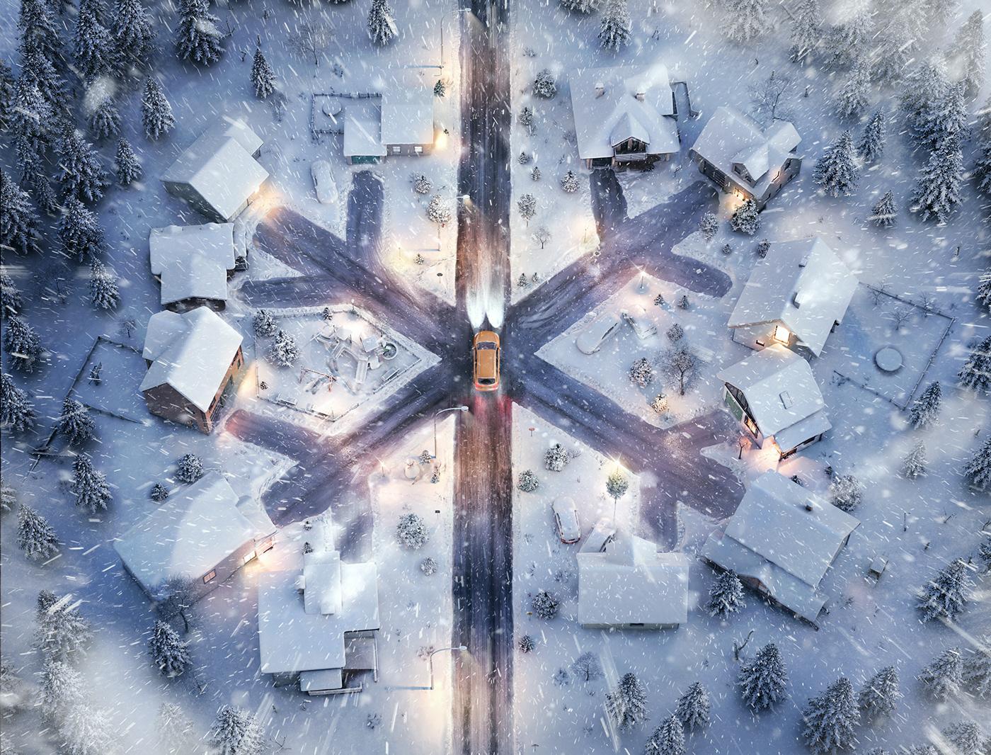 ad Audi bee beeistanbul istanbul print quattro snow tribal winter