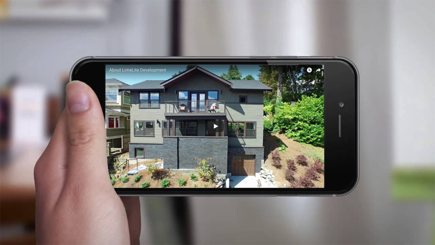 real estate environment copywriting  video branding  company about green living house