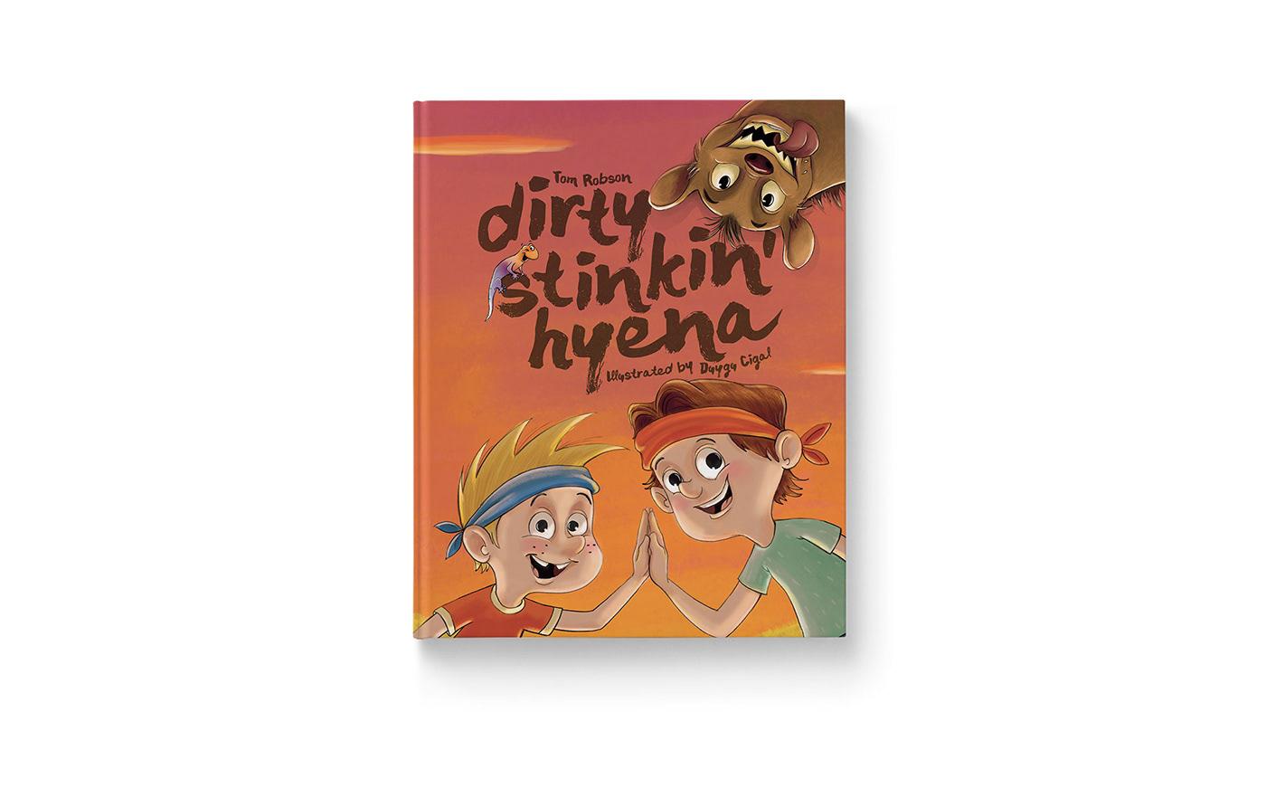 Dirty Stinkin Hyena Cover