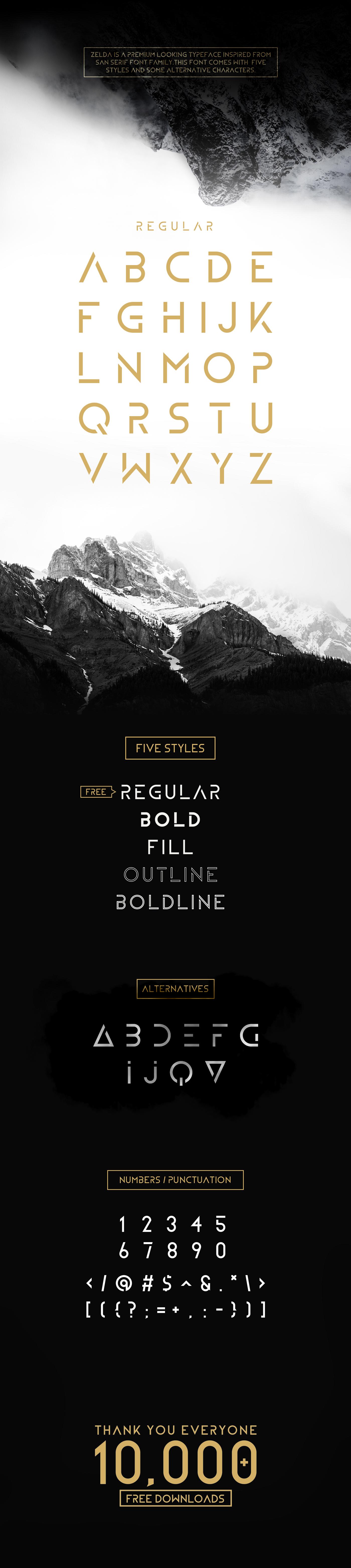 Typeface font logo minimal fontface FontLab type free freefont sans