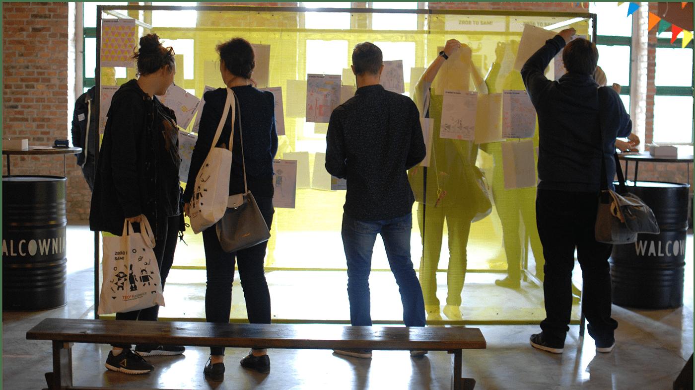 animation  DIY ILLUSTRATION  key visual module robot simple TEDx