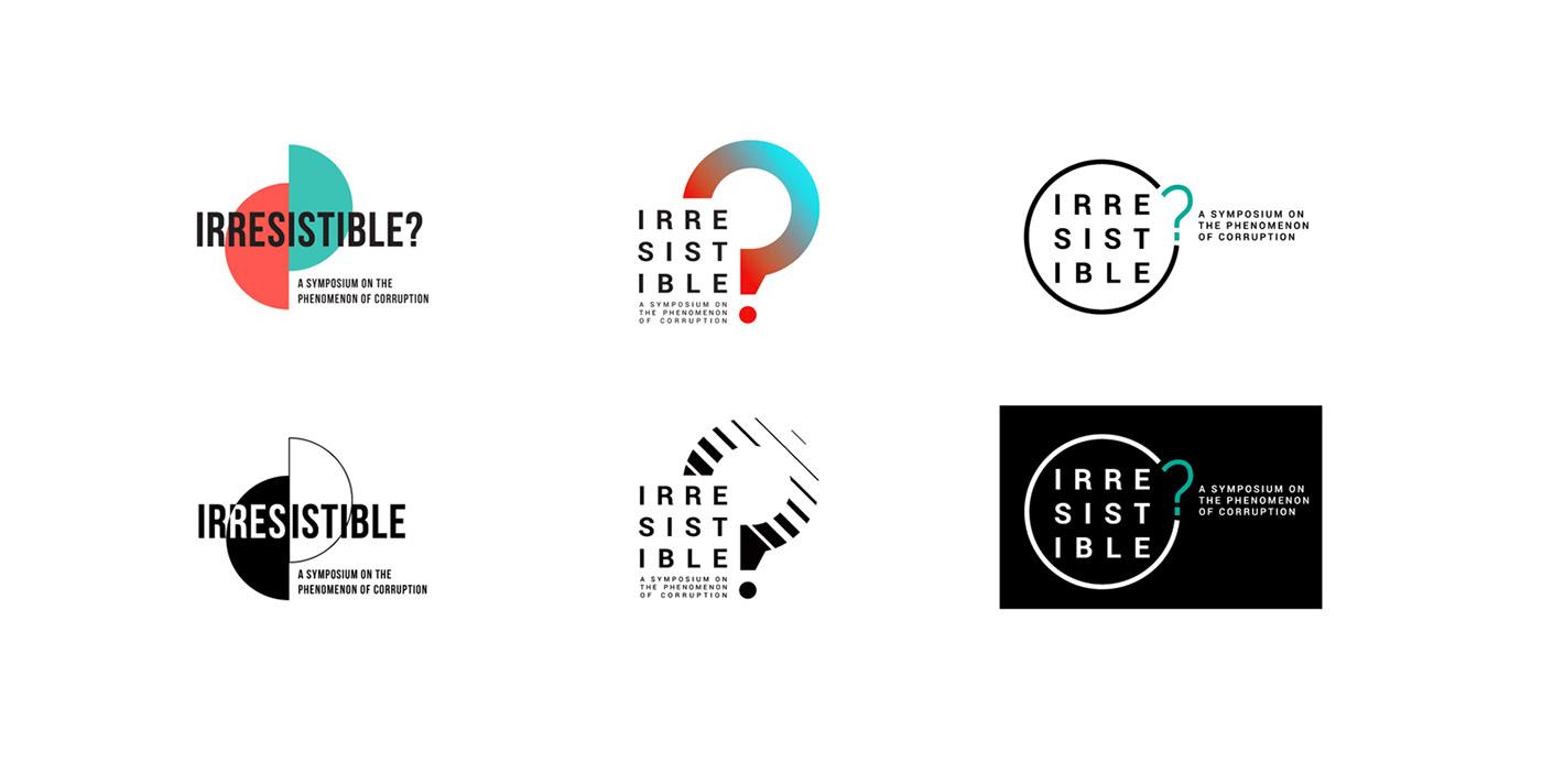 Logotype logo corruption stop round circle social anticorruption Zhuk&Kelm