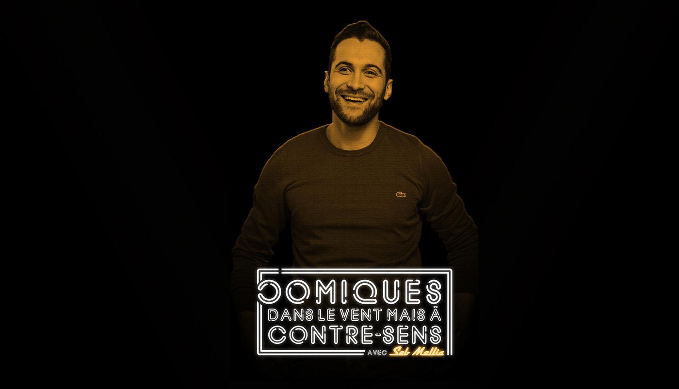 logo podcast comedy  comédie Show stand-up Paris youtube france tittle