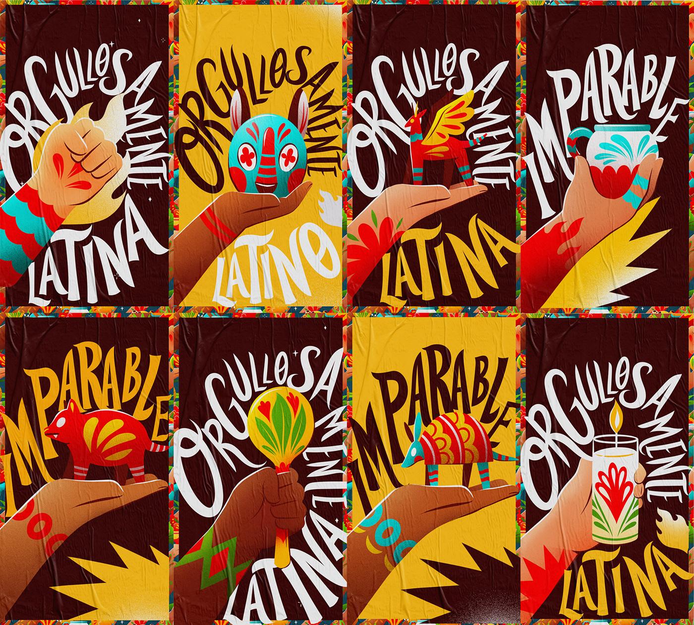 Advertising  animation  art art direction  design latino Mural Packaging tv UPS