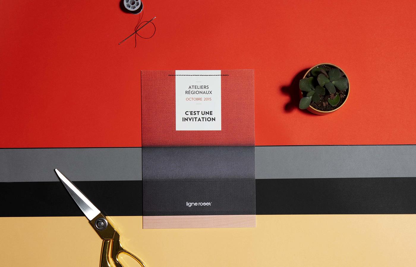 a4 a5 coated paper couture graphic design  Invitation papier print print design