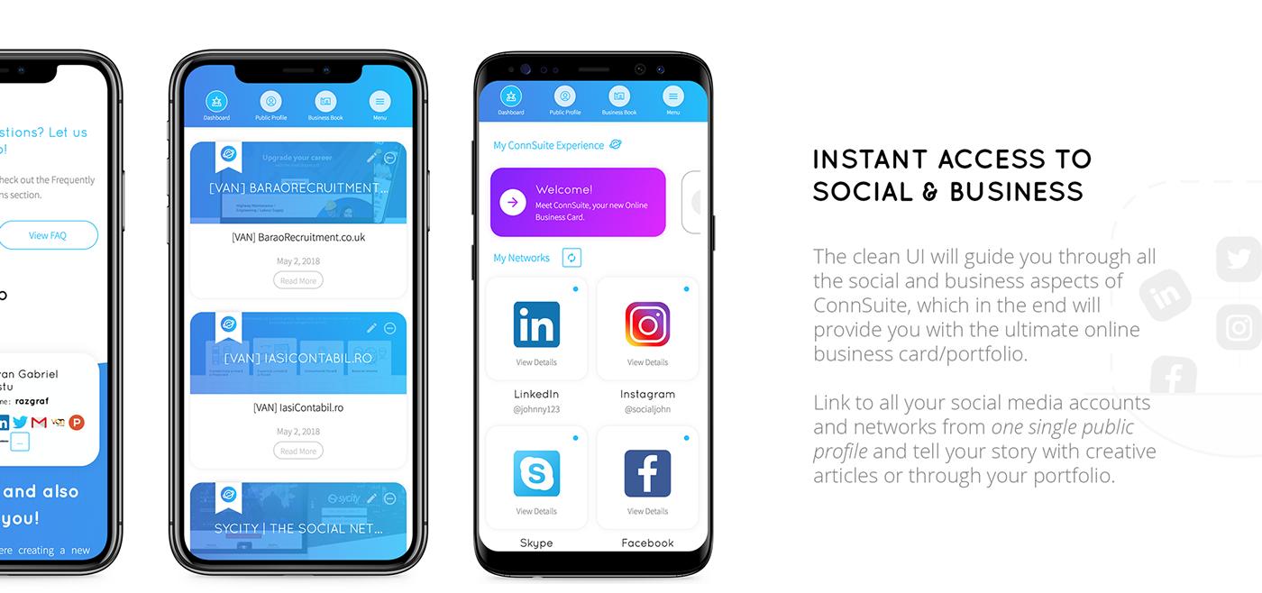 Startup Web design animation  ILLUSTRATION  Web Design  connsuite business networking social