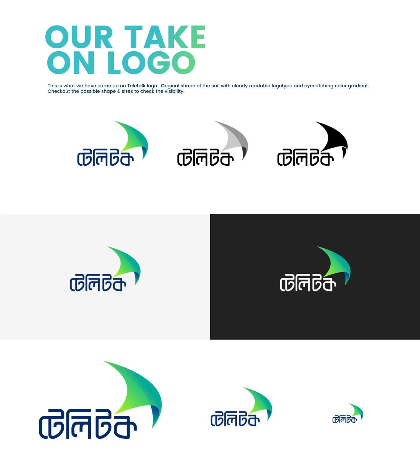 teletalk maniknratan Bangladesh logo design concept Telecom branding  corporateidentity