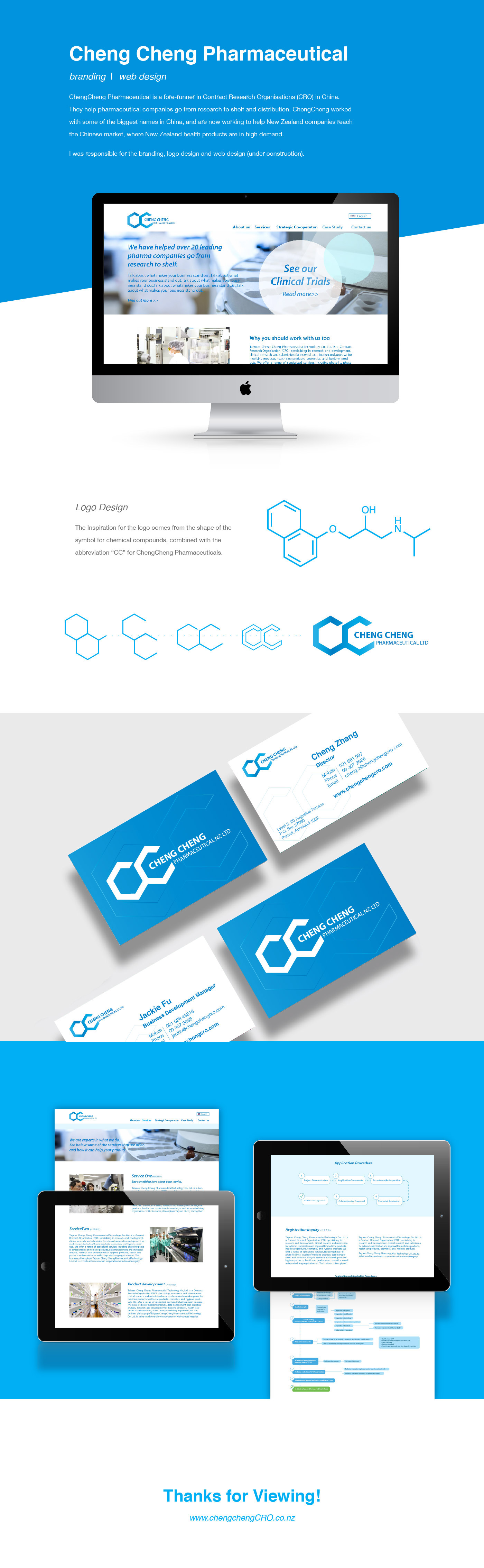 cro Pharmaceutical Company Website Design Logo Design