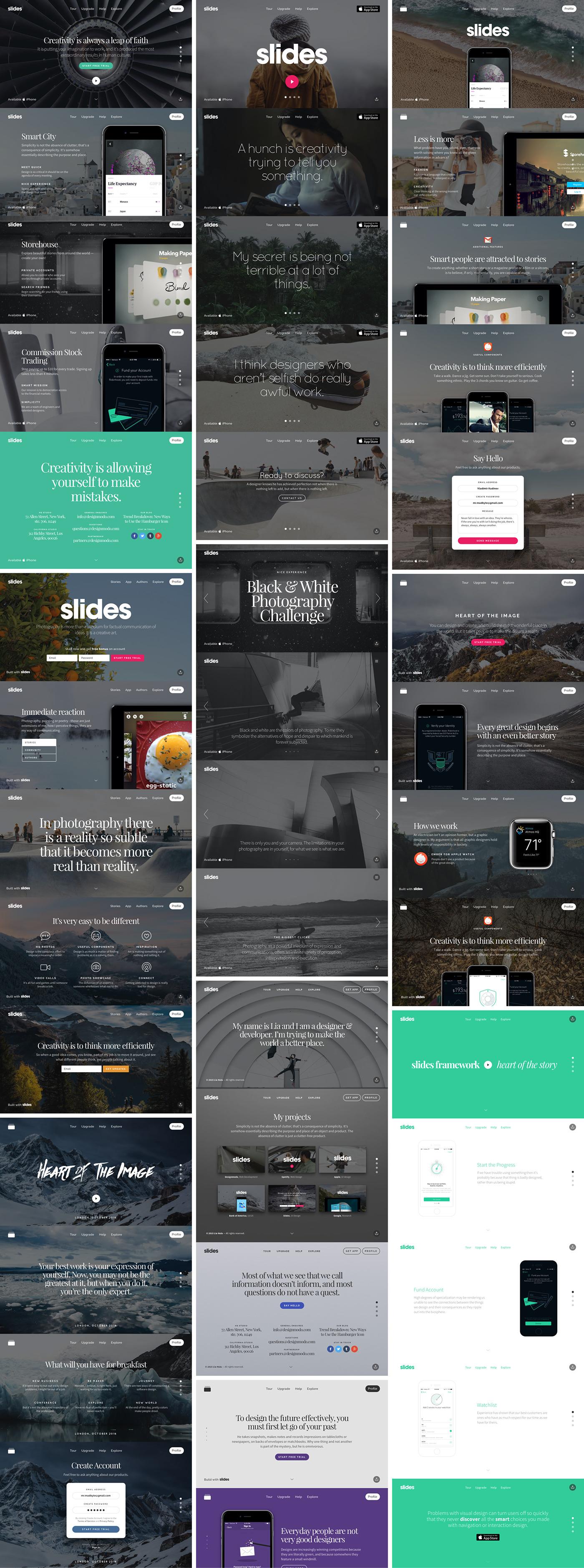 Web presentations