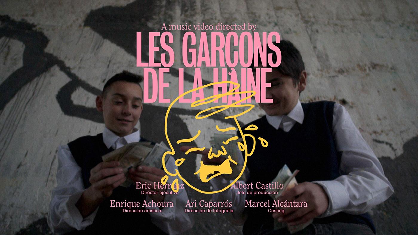 barcelona garcons graphic design  haine ILLUSTRATION  music producer raval Vera Tamayo video