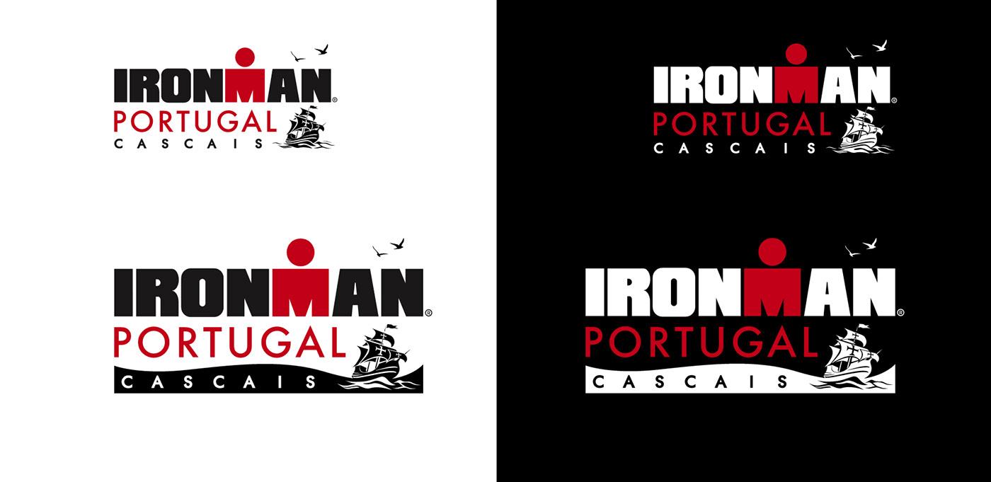 ironman Logo Design Cascais