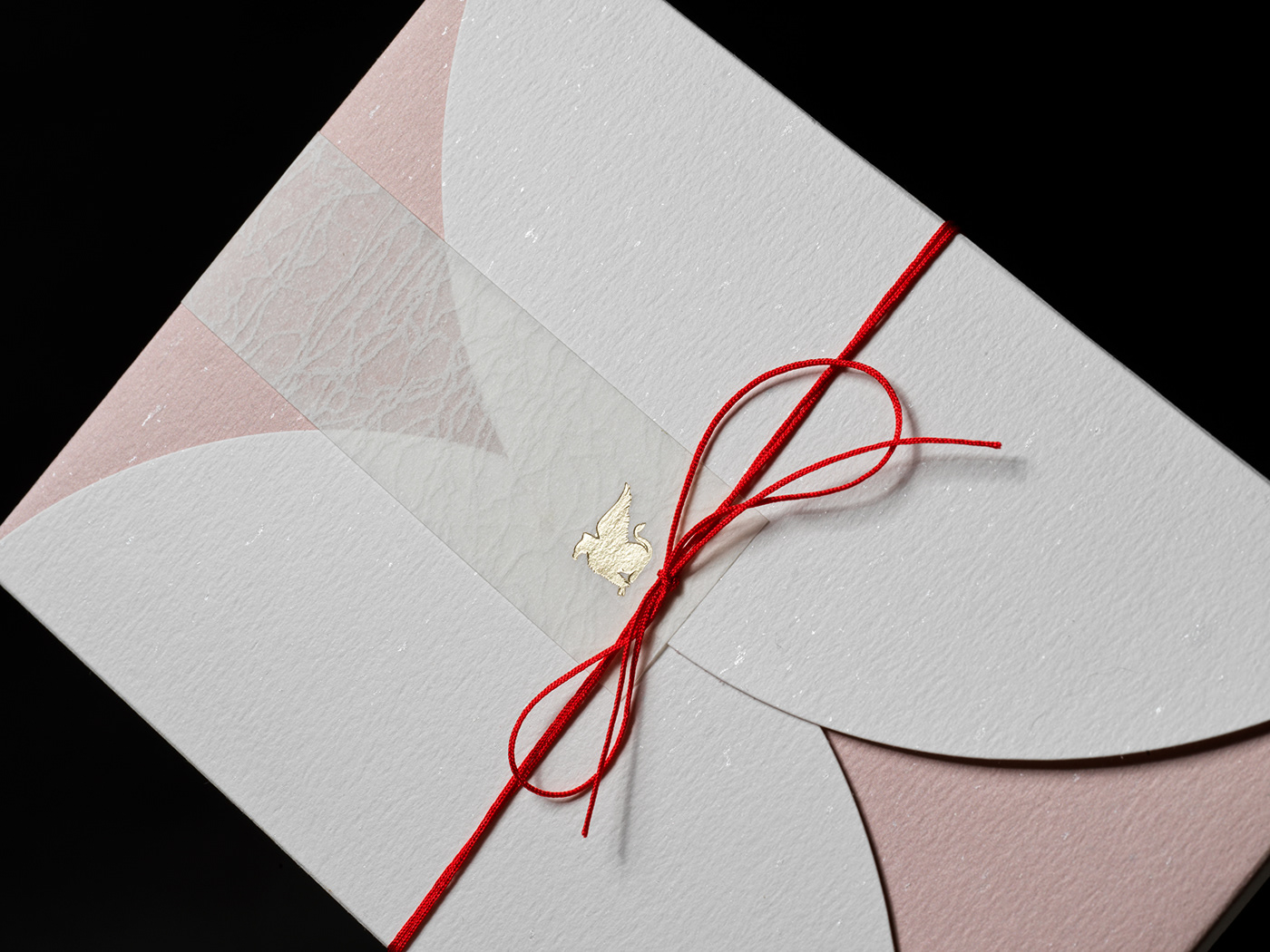 foil hotel Invitation japanese Marriott oddity Packaging print effect