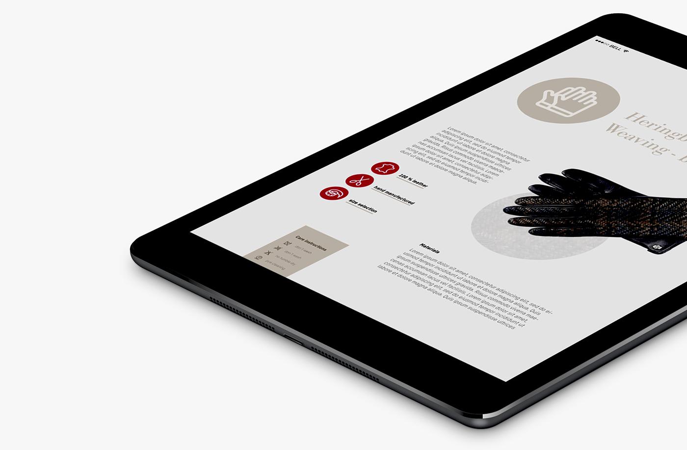 iconic craftsmanship Roeckl Icondesign Ecommerce Website