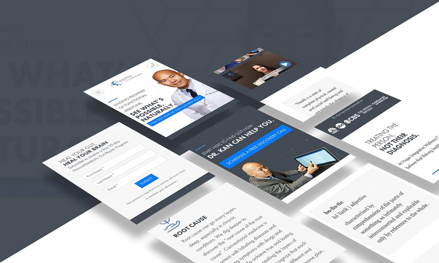 Website Design Web Design  wordpress graphic design  typography