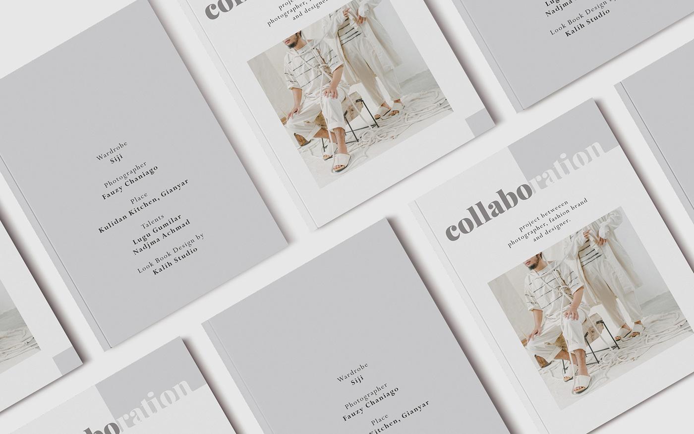 Fashion  Lookbook magazine Layout Photography  branding  Picture magazinelayout