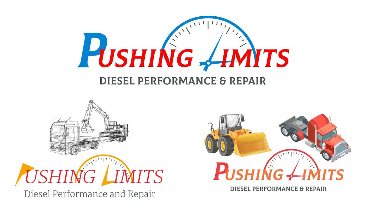 Diesel Editing  graphic logo Repair