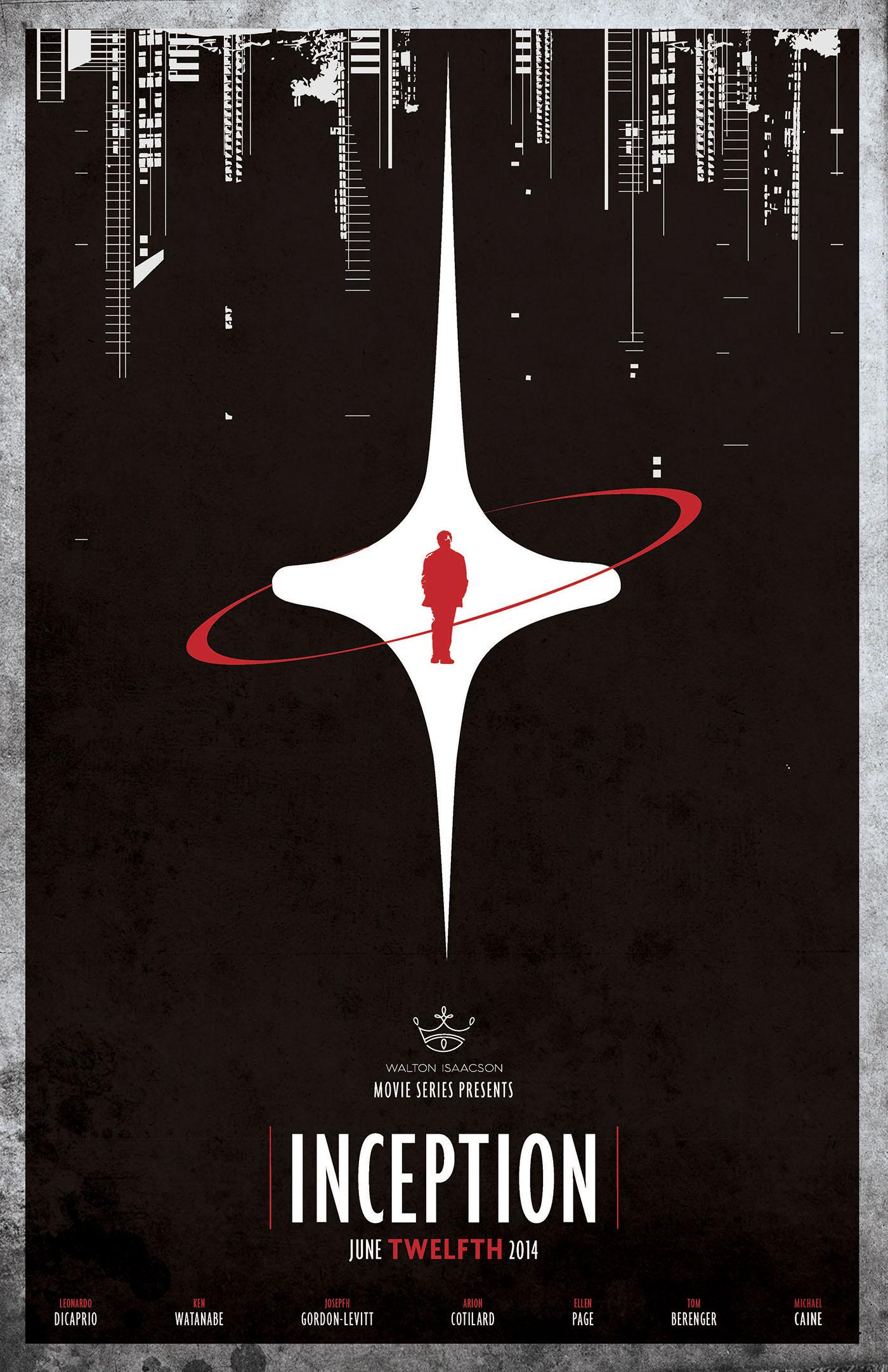 Minimalist Inception Poster on Behance
