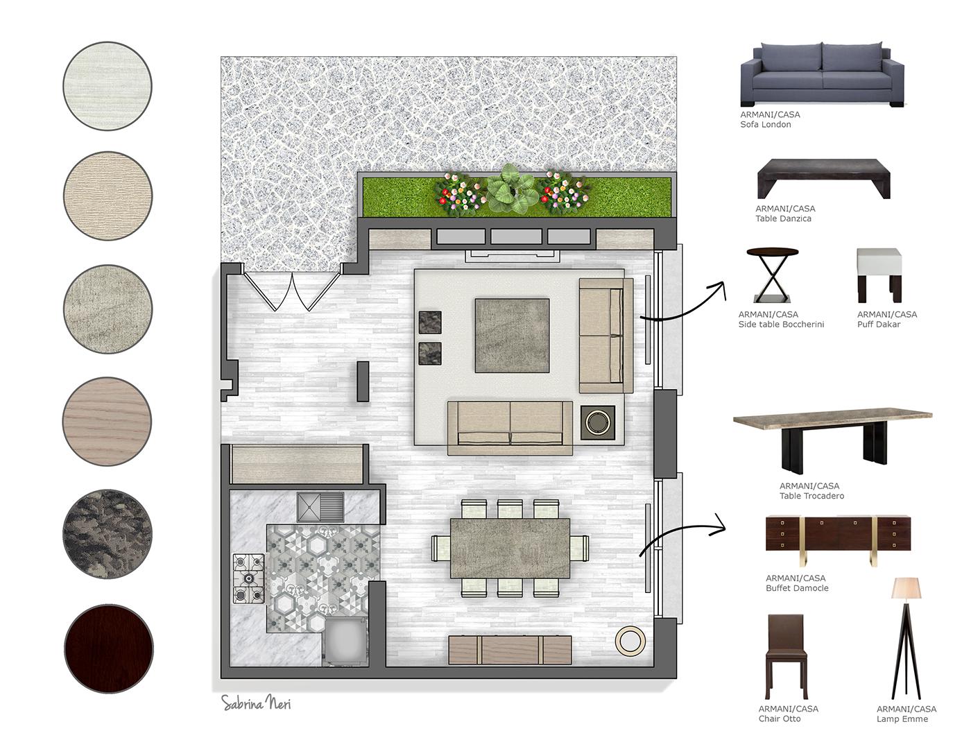 Project Armani/Casa Paris on Behance