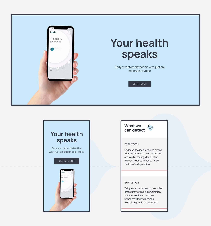 app application Figma Health Health App UI ux Web web site