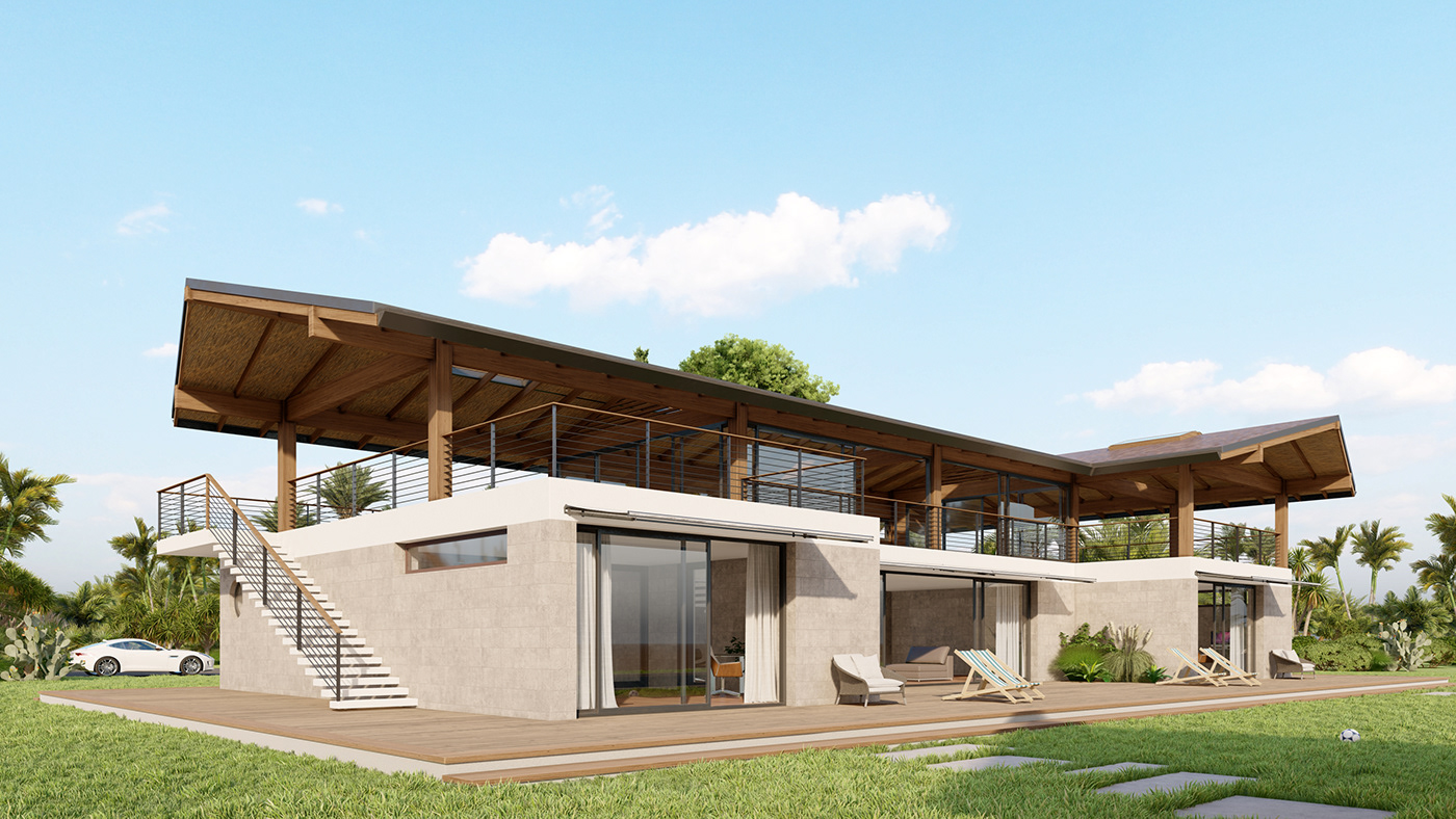 3ds max architecture design house Render
