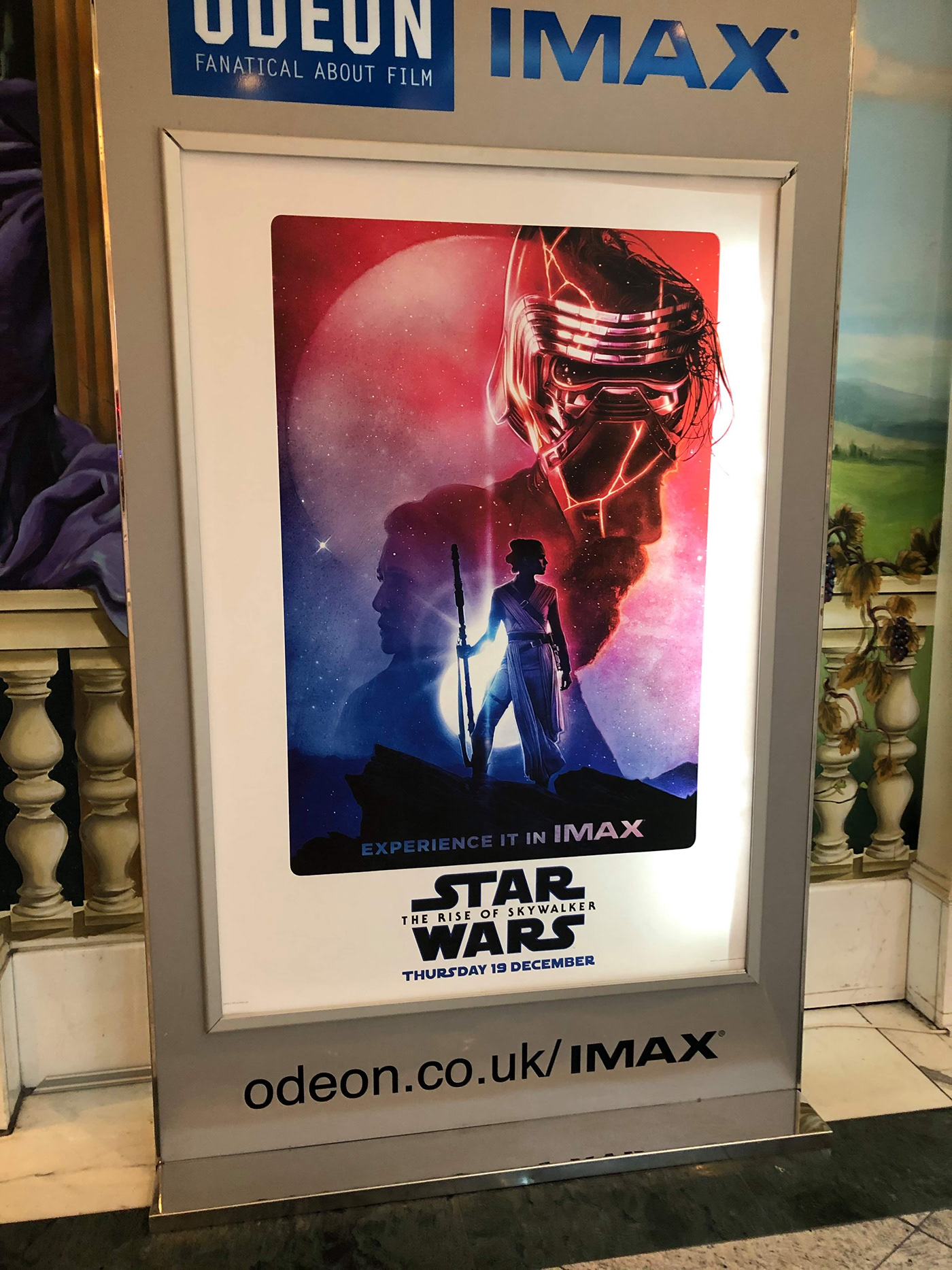 Star Wars The Rise Of Skywalker Imax Poster On Behance