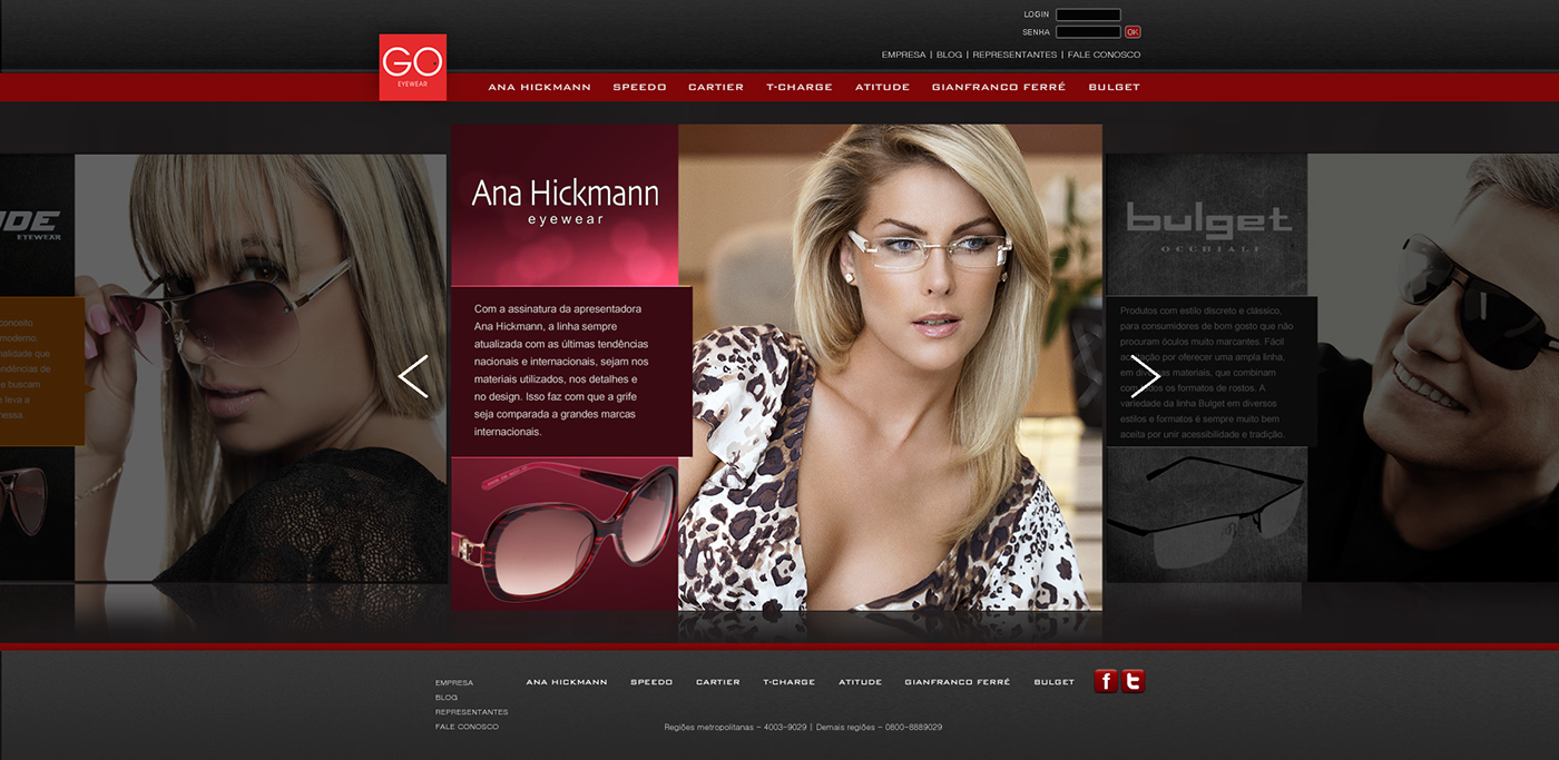 GO   General Optical Eyewear on Behance 6dd3825b05