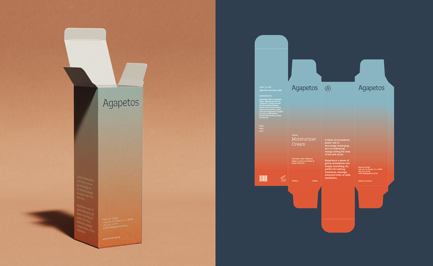 bath and beauty concept design Packaging