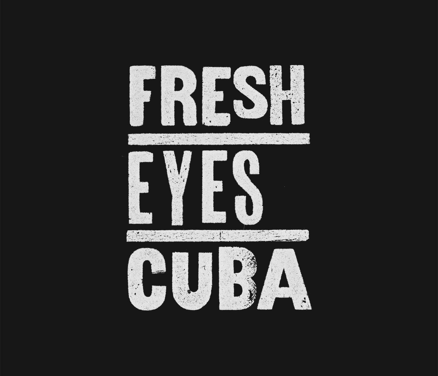 branding  cuba letterpress