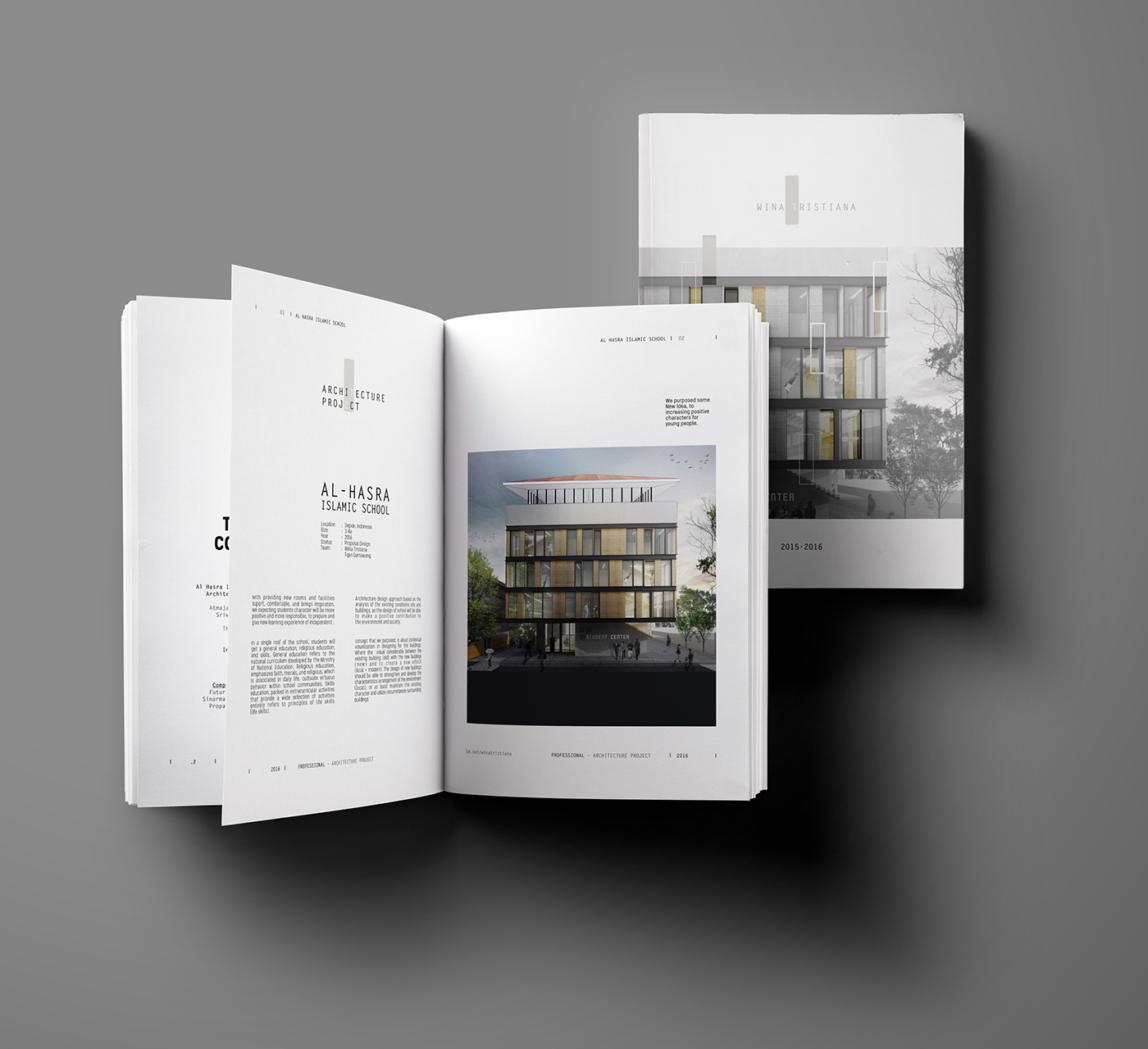 10 Outstanding Architecture Portfolio Example Covers - The