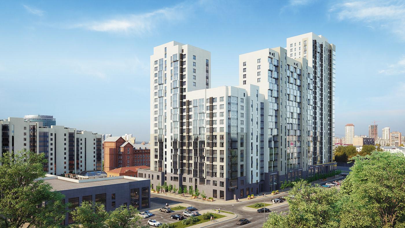 3D apartment architecture development granum modelling thegranum visualization