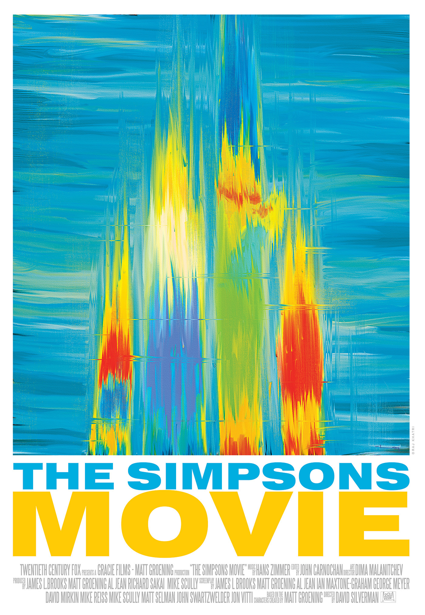 minimal poster strokes colours abstract