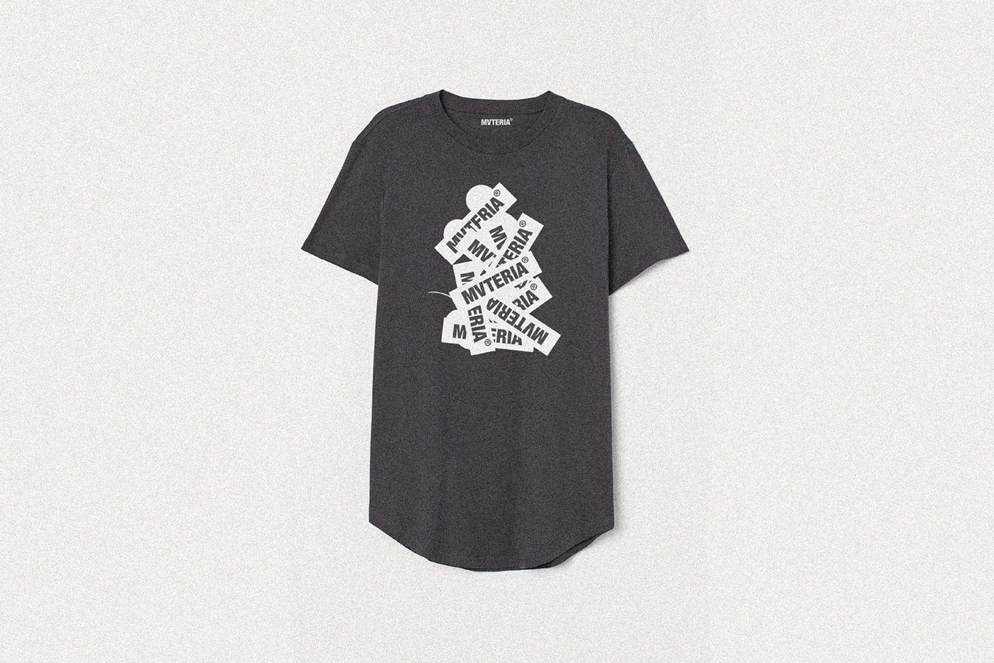 3D brand Clothing contemporary experimental Fashion  identity Materia streetwear Typeface