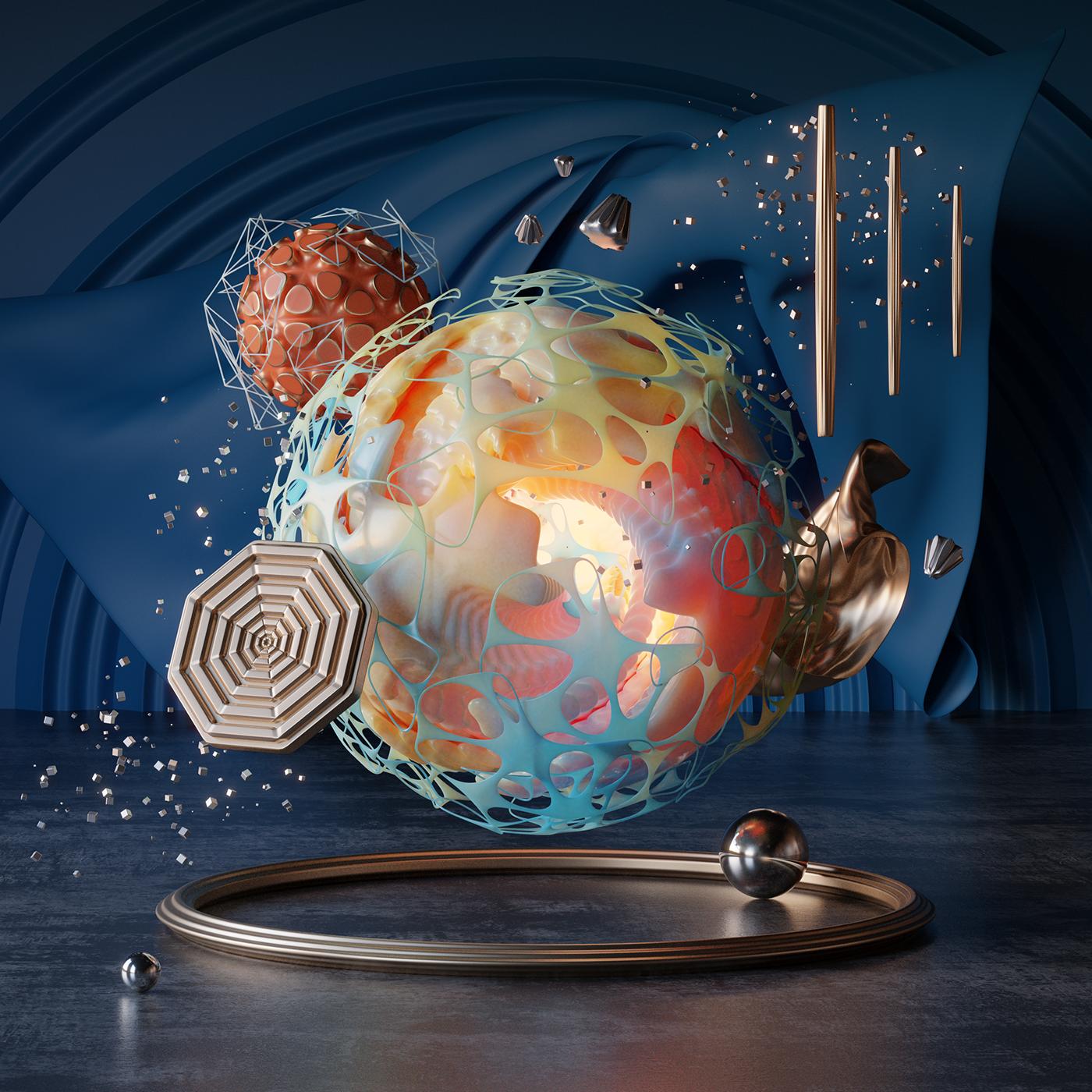 3D b3d Cyclesrender art CG digital design graphics blender abstrac