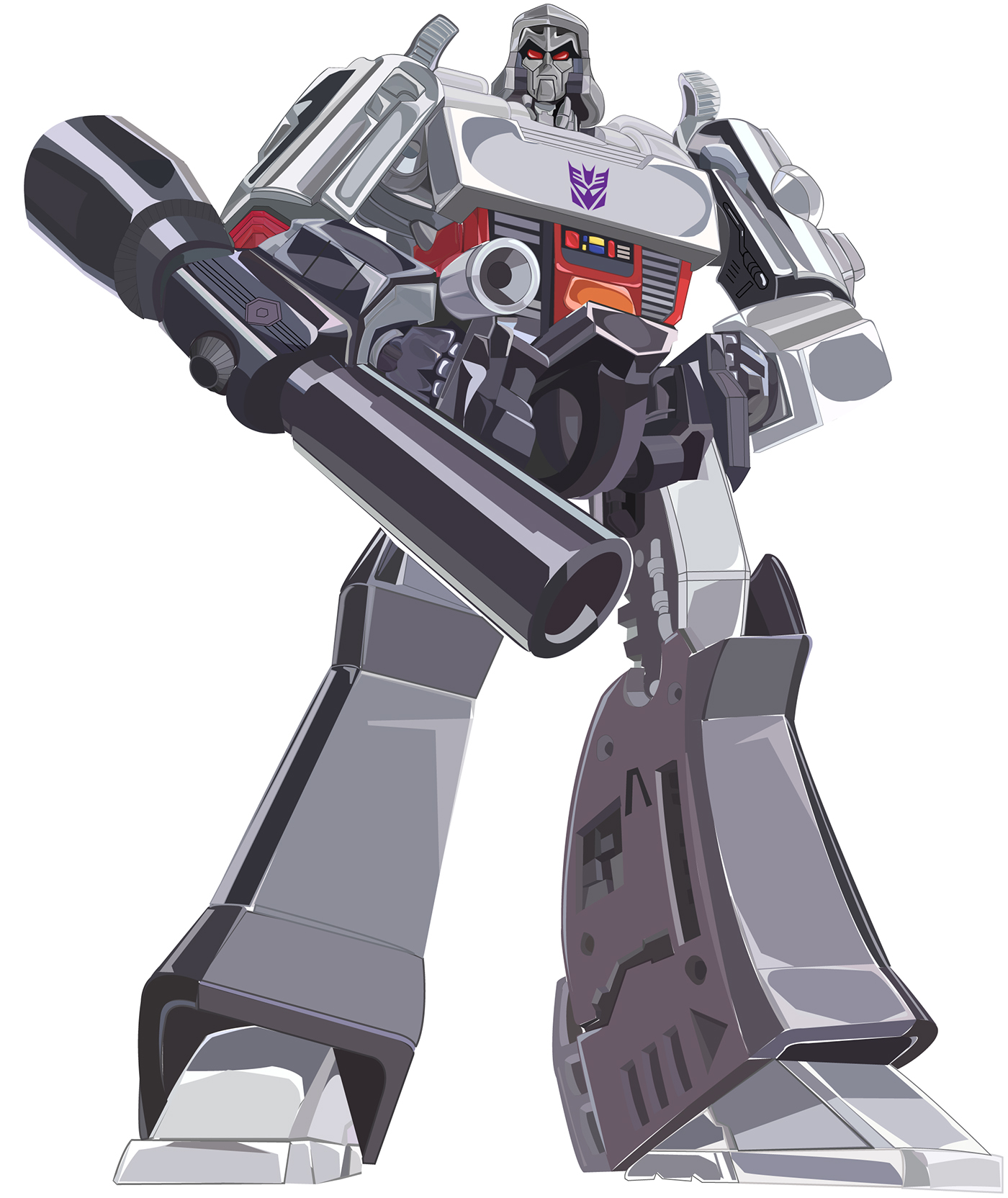Megatron Vector On Behance