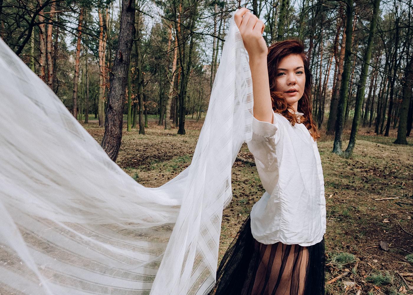 forest Czech Republic actress fashionstory fashioneditorial