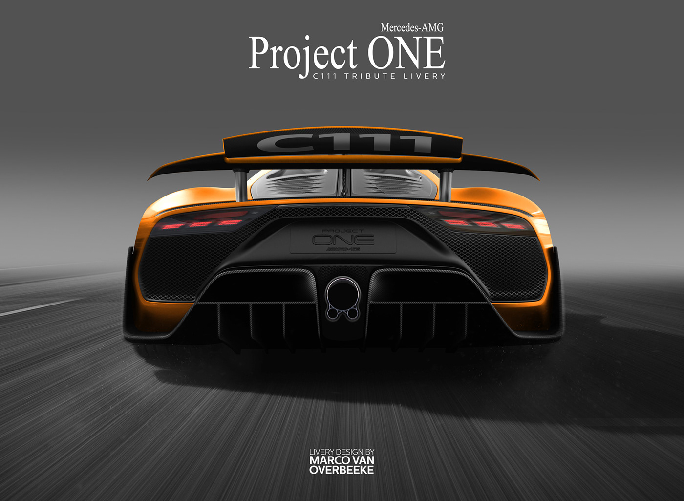 Mercedes-AMG Project ONE Tributes & Custom Liveries on Behance