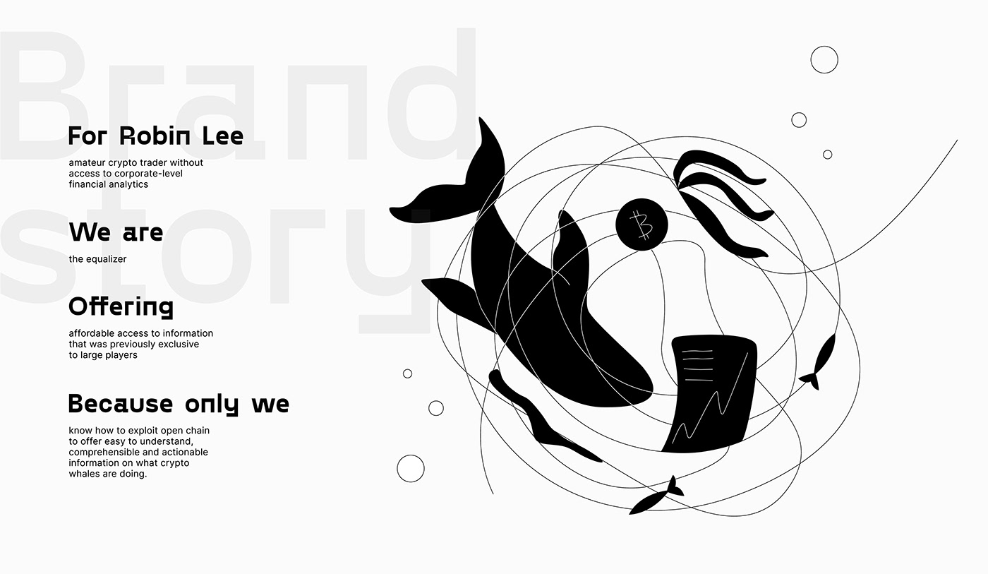 animation  branding  cryptocurrency illustrations money trading bitcoin crypto Fintech Whale