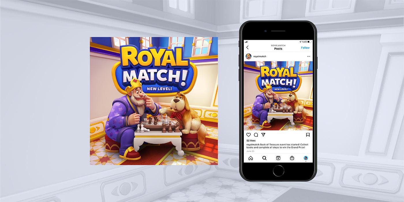 advertisement concept design Game KV Keyvisual mobile games post poster social media