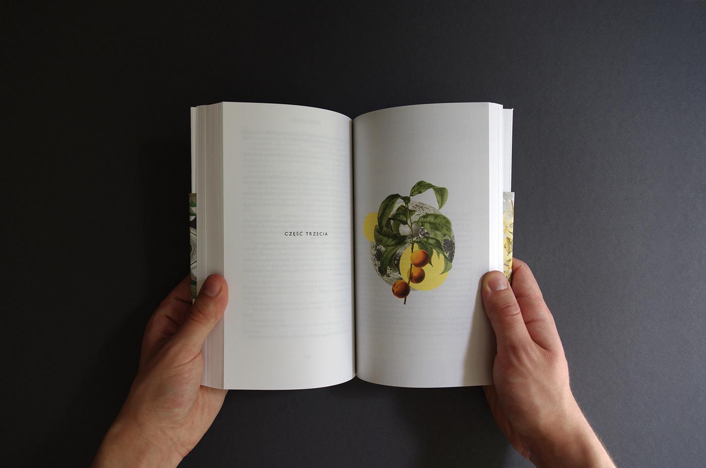 żuławski trylogia książycowa książka seria grafika edytorska wiktor gromadzki łuna