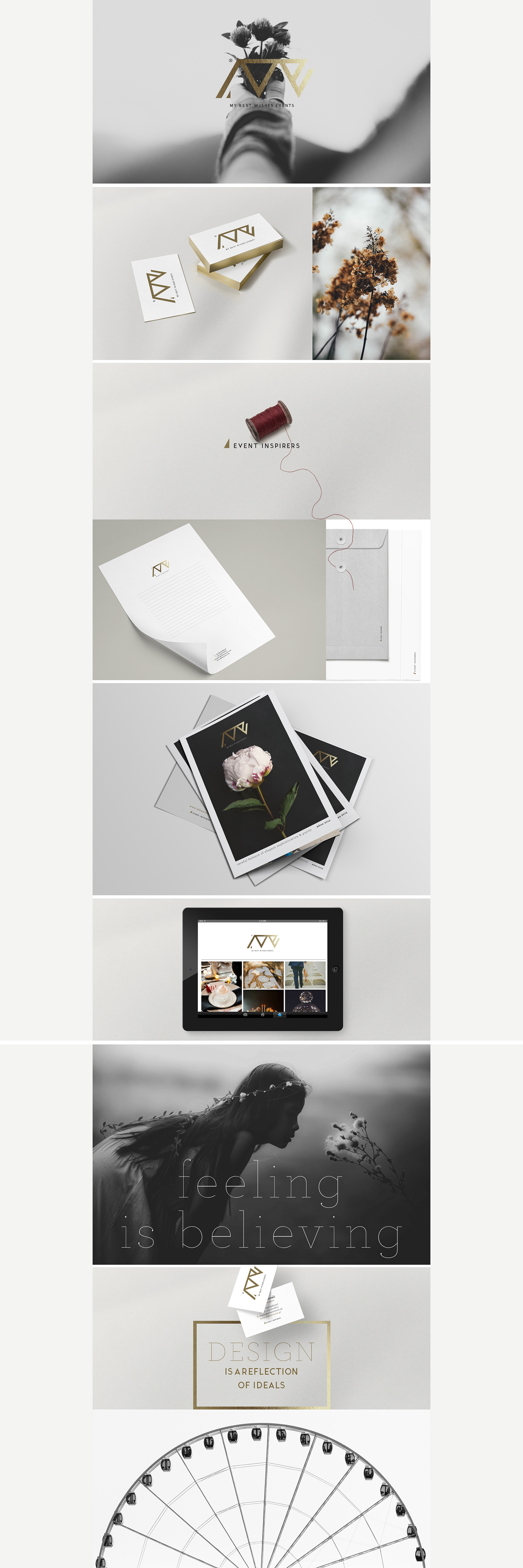 event planning corporate social Private wedding concept identity Greece minimal chic event inspirers